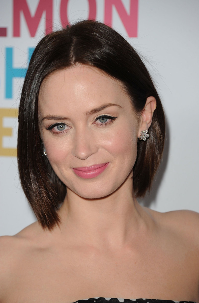 Emily Blunt, Salmon Fishing in the Yemen premiere, 2011