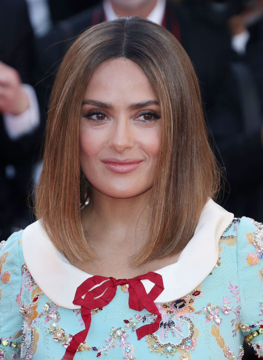 Salma Hayek, Cannes 70th anniversary celebration, 2017