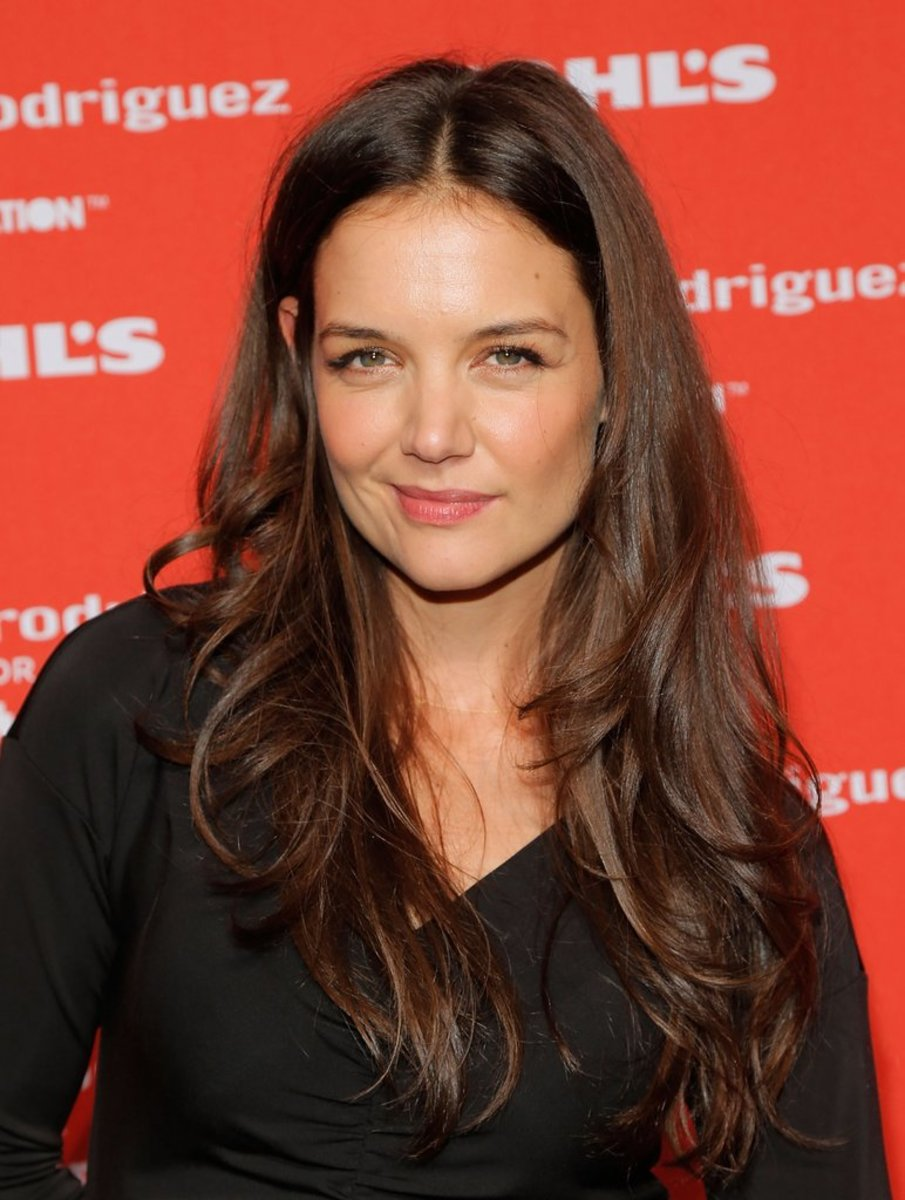 Katie Holmes, Narciso Rodriguez for Kohl's event, 2012