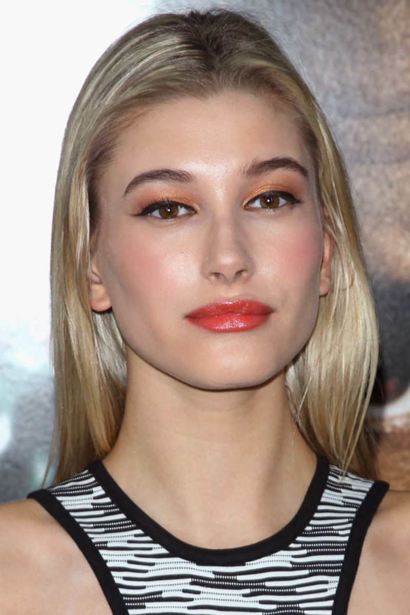 Hailey Baldwin, After Earth New York premiere, 2013