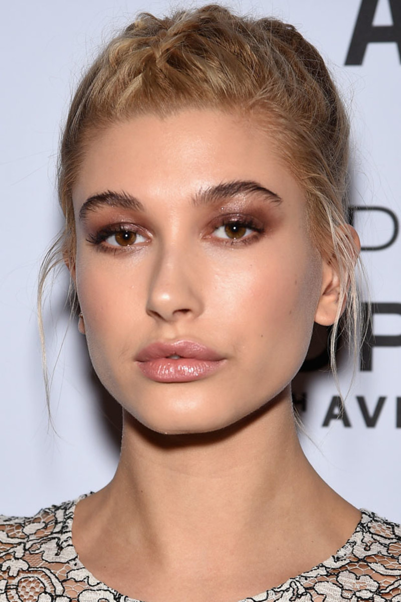 Hailey Baldwin, Topshop Topman New York flagship opening dinner, 2014