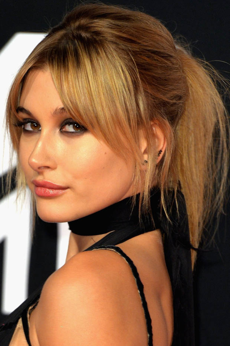 Hailey Baldwin, MTV Europe Music Awards, 2015