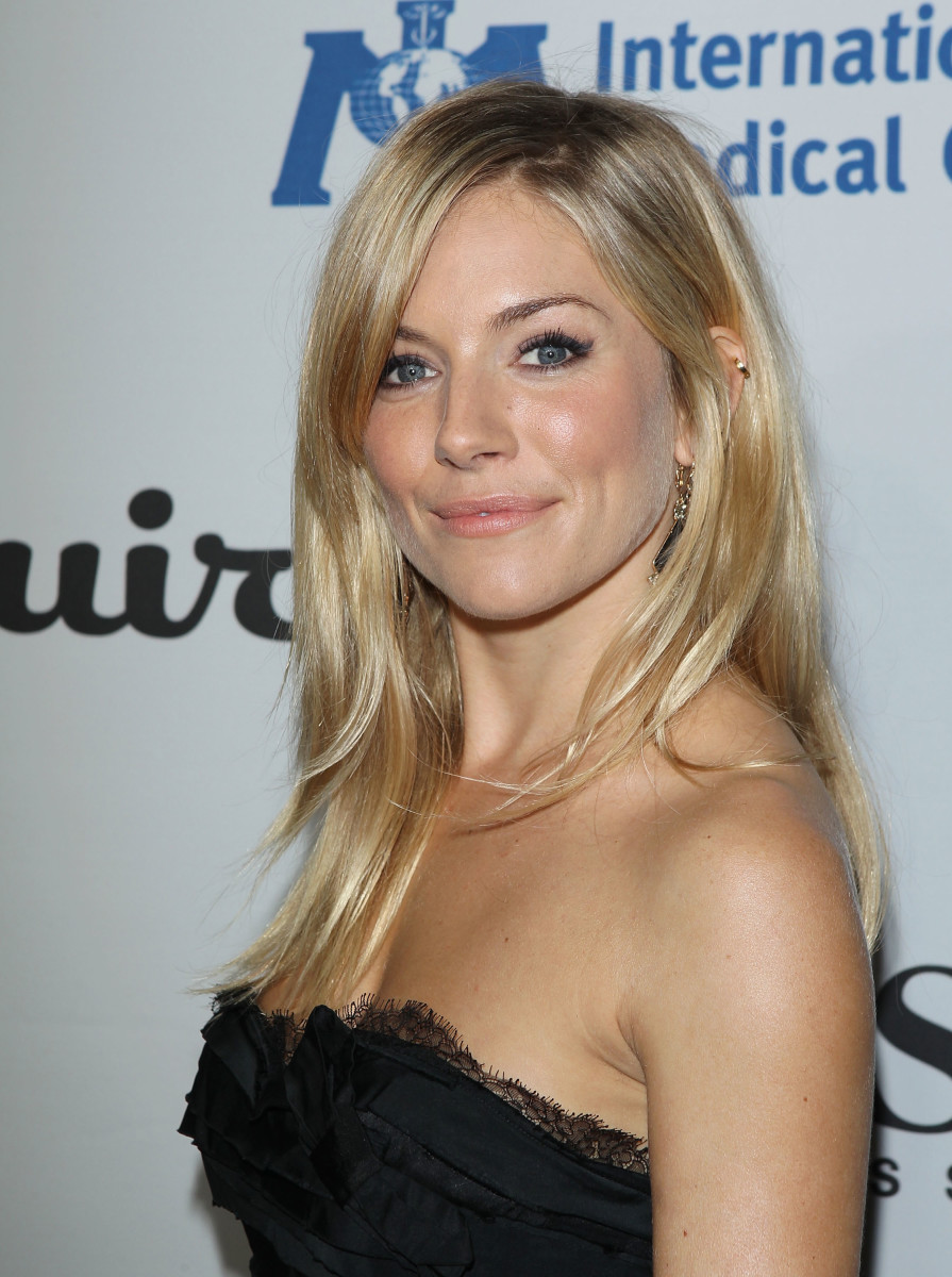 Sienna Miller, House of Esquire opening, 2010