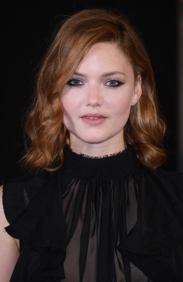 Holliday Grainger, My Cousin Rachel London premiere, 2017