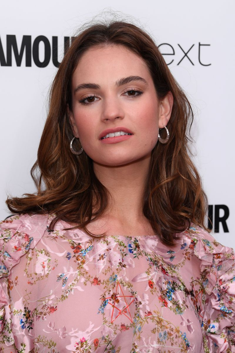 Lily James, Glamour Women of the Year Awards, 2017