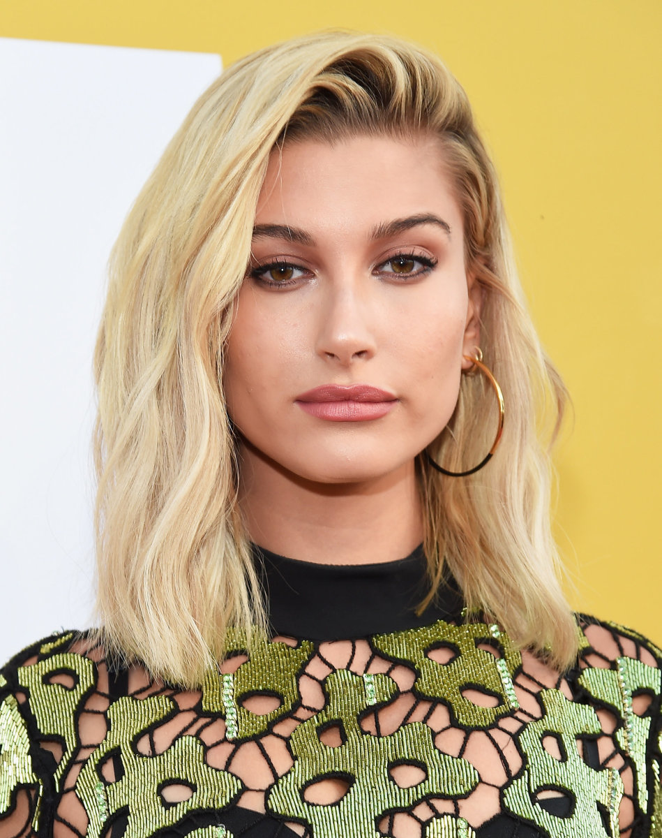 Hailey Baldwin, NBA Awards, 2017