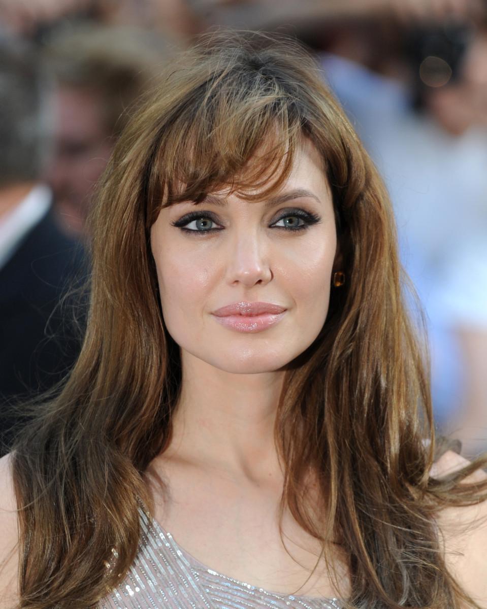 Angelina Jolie, Salt London premiere, 2010