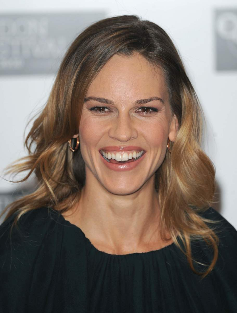 Hilary Swank, Conviction London premiere, 2010