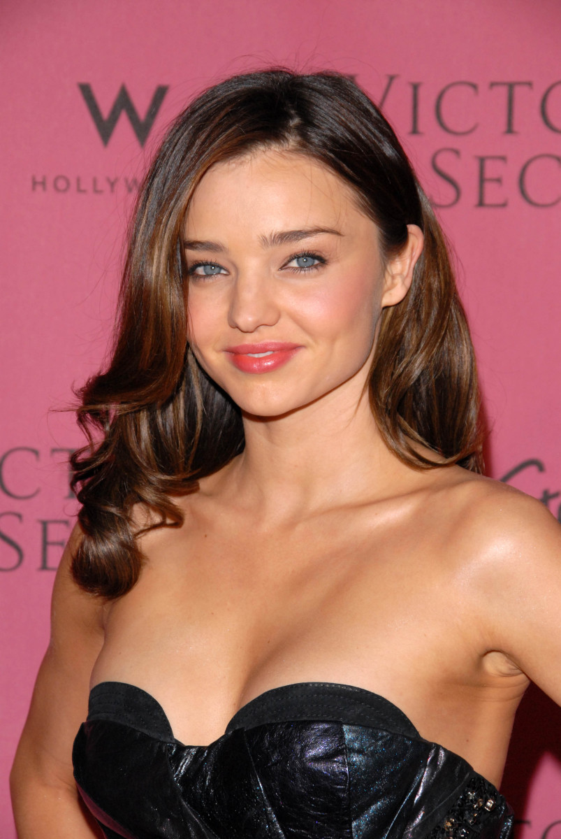 Miranda Kerr, Victoria's Secret What is Sexy List party, 2010