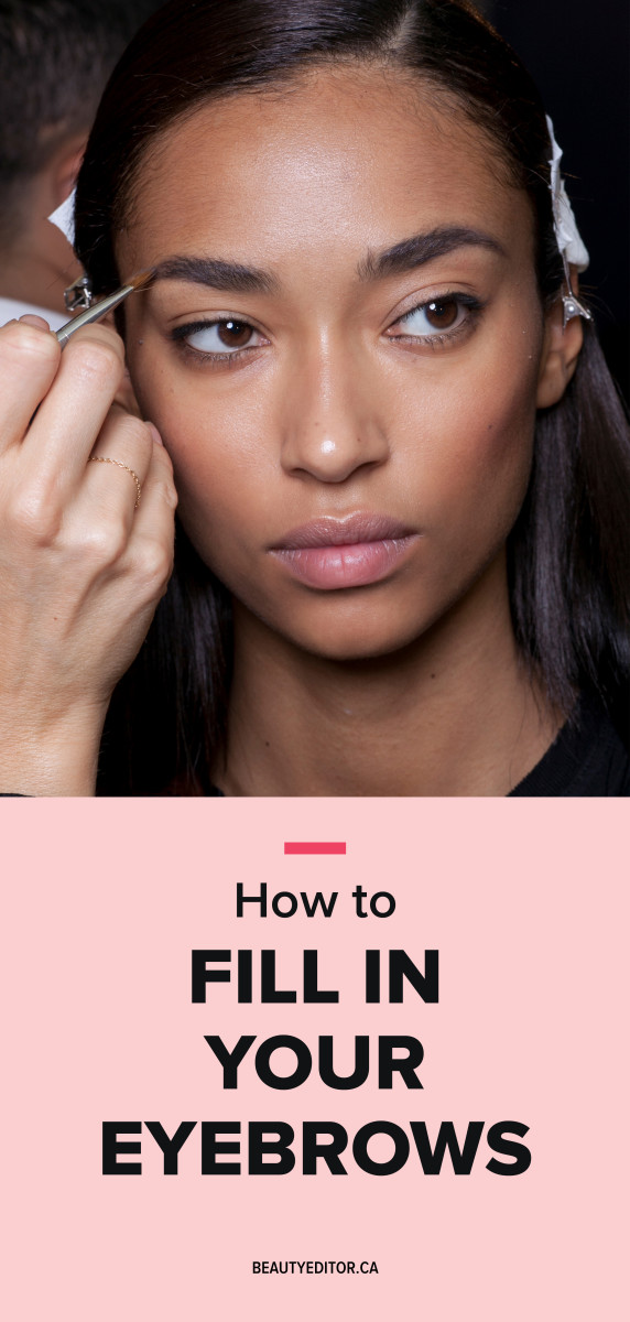 How to Fill in Your Eyebrows - Beautyeditor