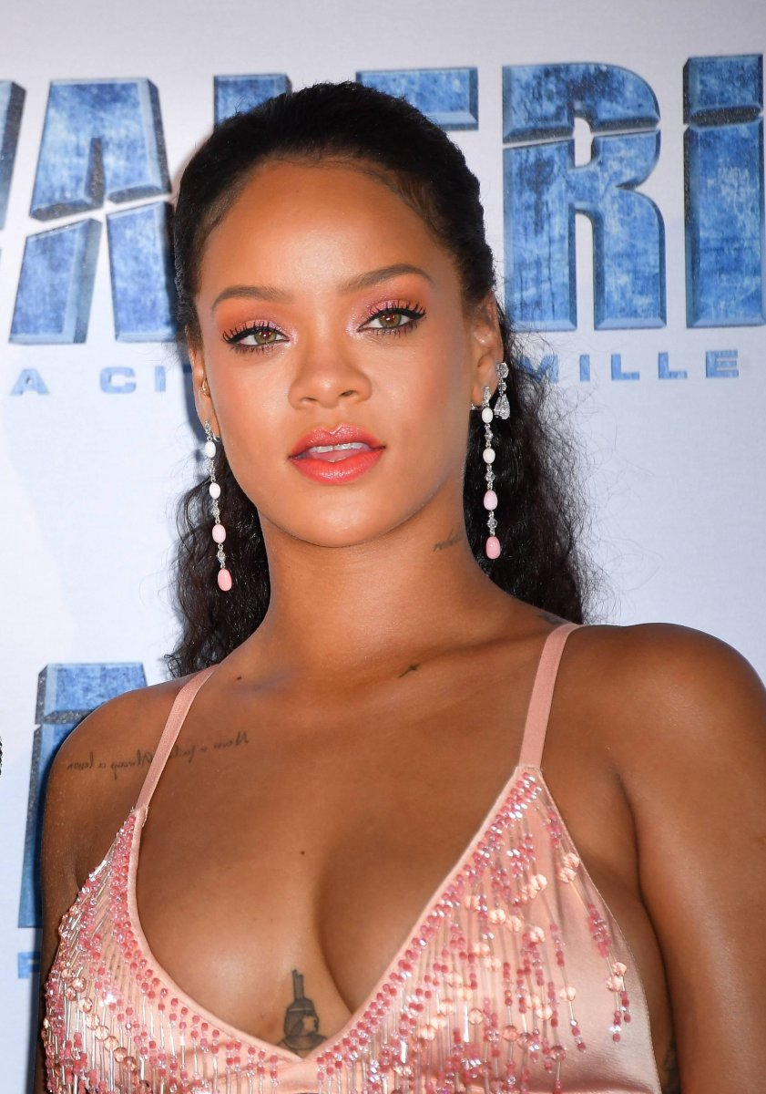 Rihanna, Valerian and the City of a Thousand Planets Paris premiere, 2017