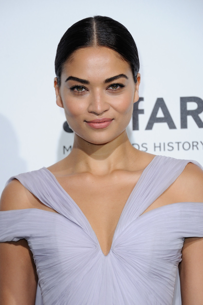 Shanina Shaik, Paris Fashion Week amfAR Dinner, 2016