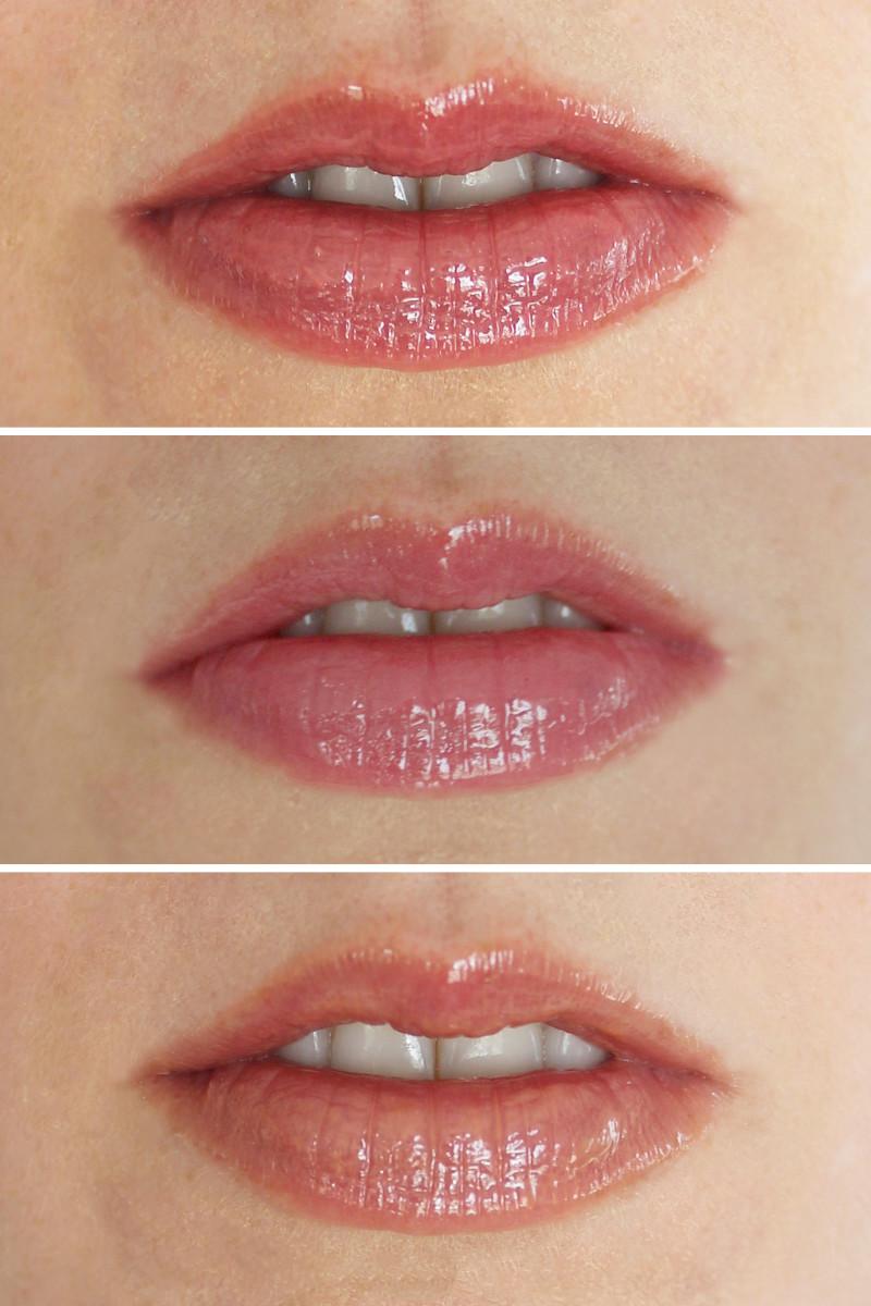 Beautycounter Lip Gloss swatches
