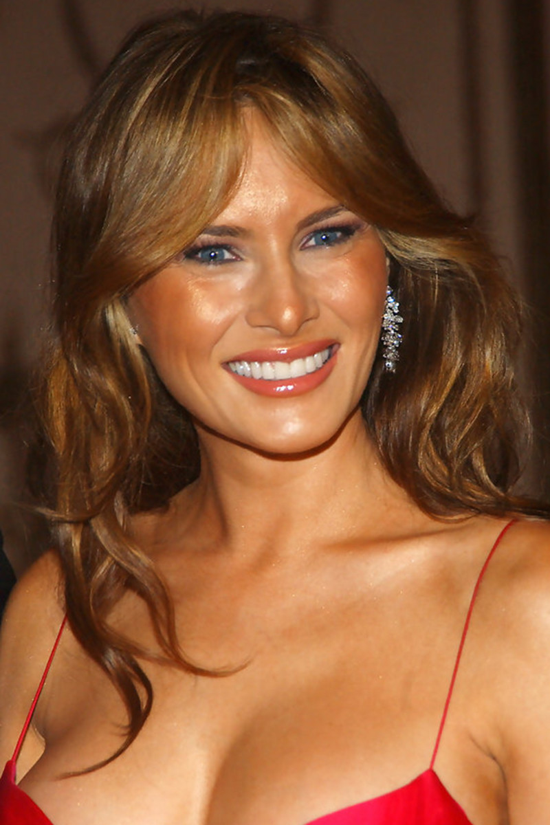 Melania Trump, Breast Cancer Research Foundation Hot Pink Party, 2005