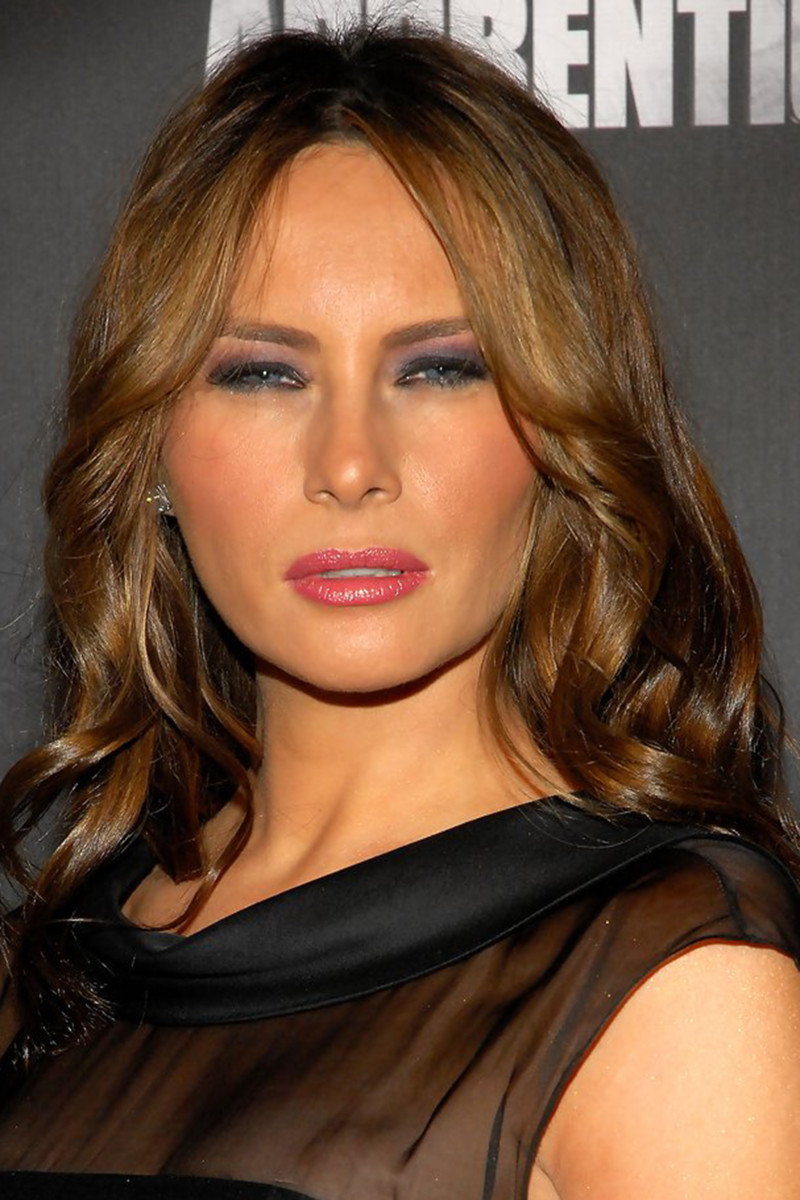 Melania Trump, The Celebrity Apprentice viewing party, 2008