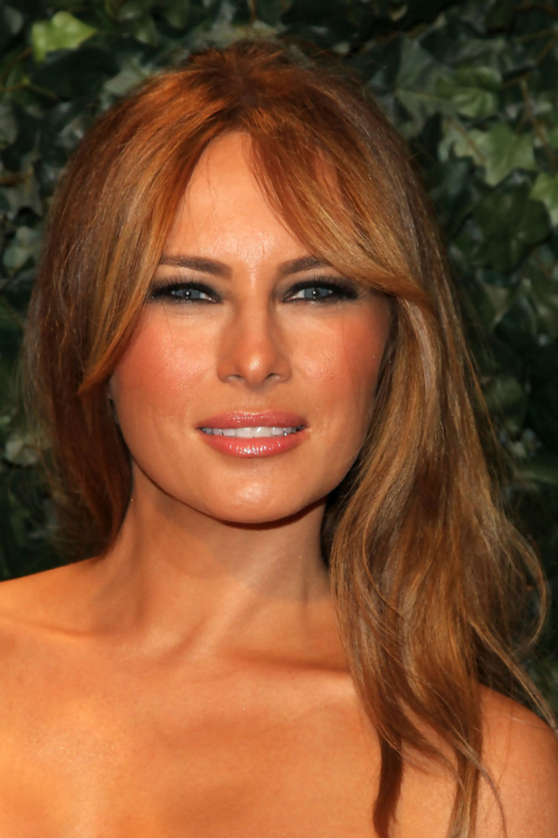 Melania Trump, QVC Red Carpet Style party, 2011