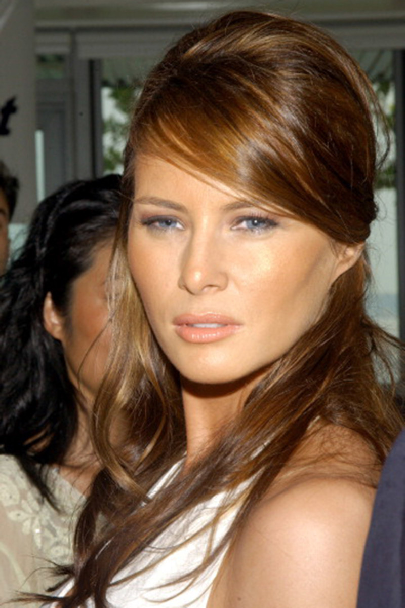 Melania Trump, Before and After - Beautyeditor