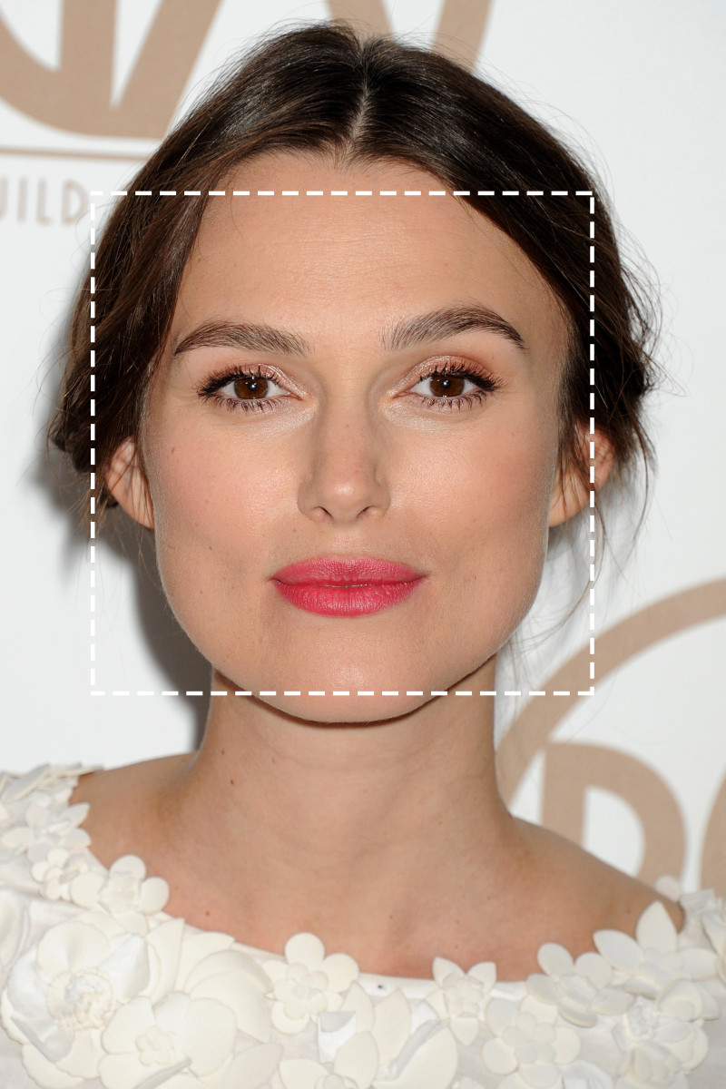 how to figure out your face shape in 4 steps - beautyeditor