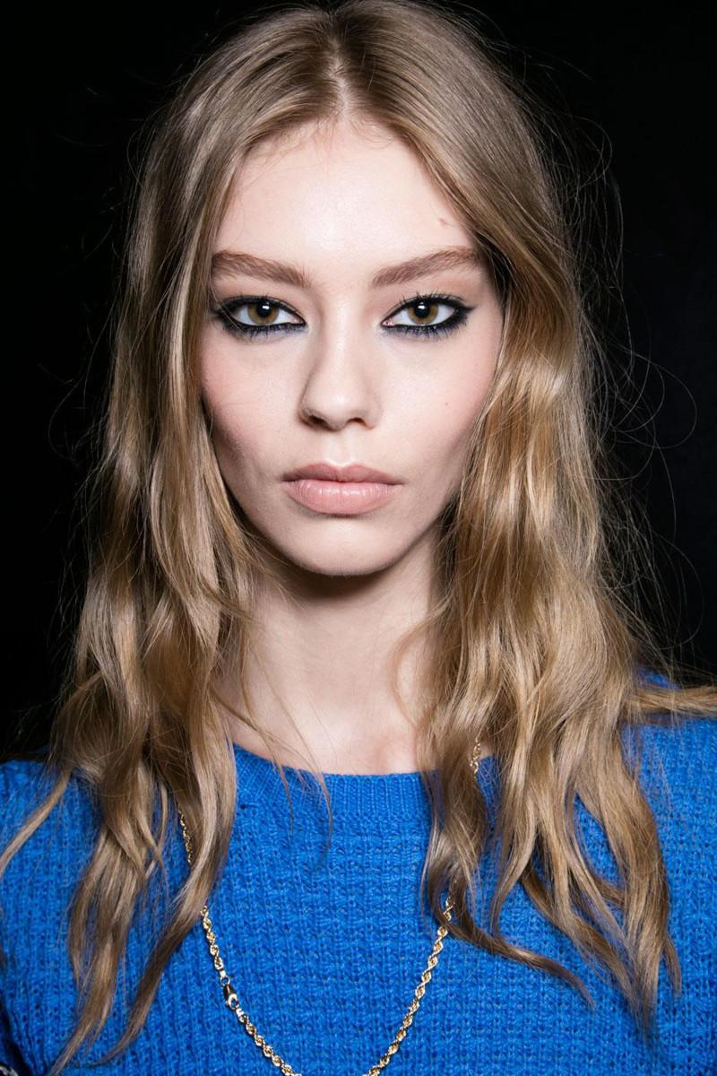 Nicole Miller fall 2016 makeup