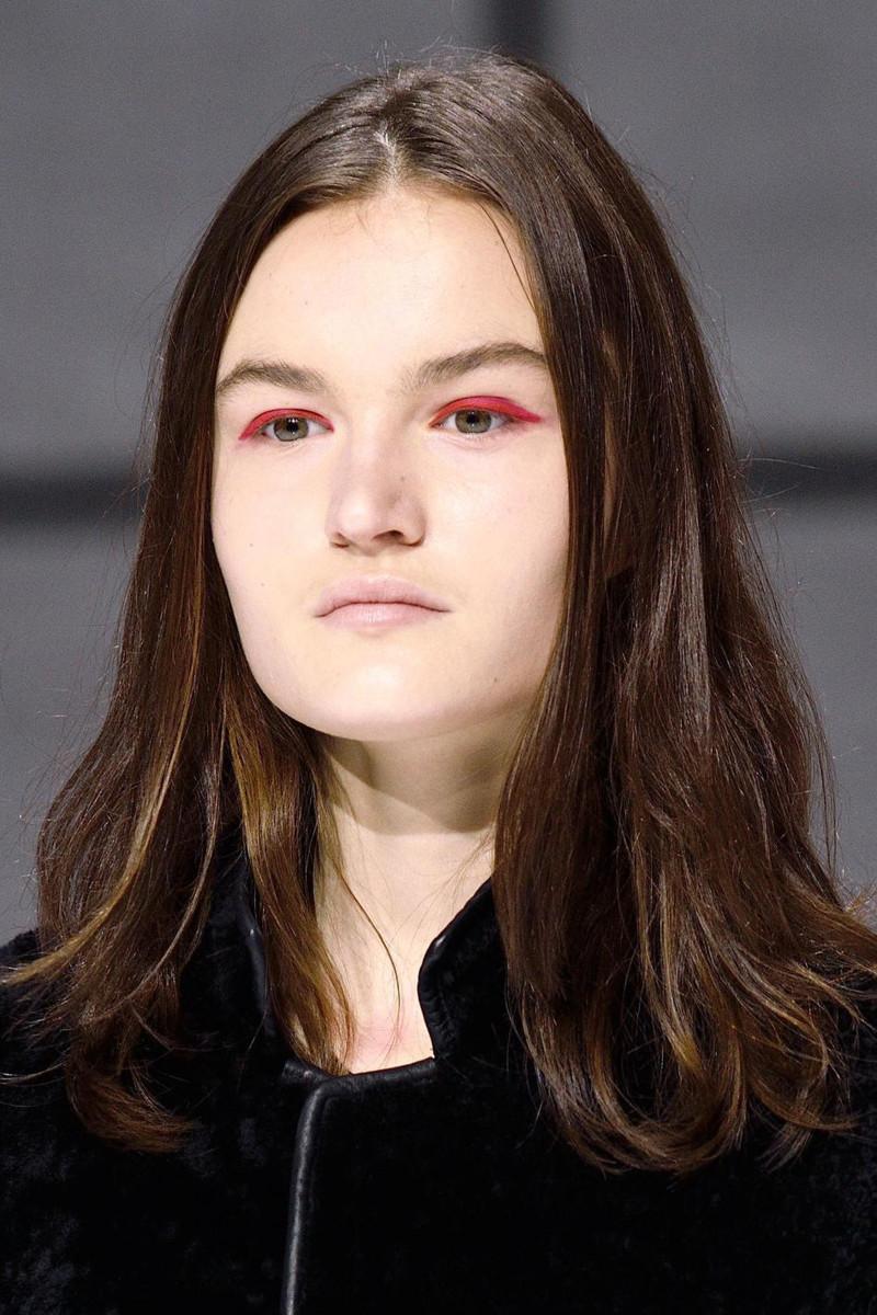 Anya Hindmarch fall 2016 makeup