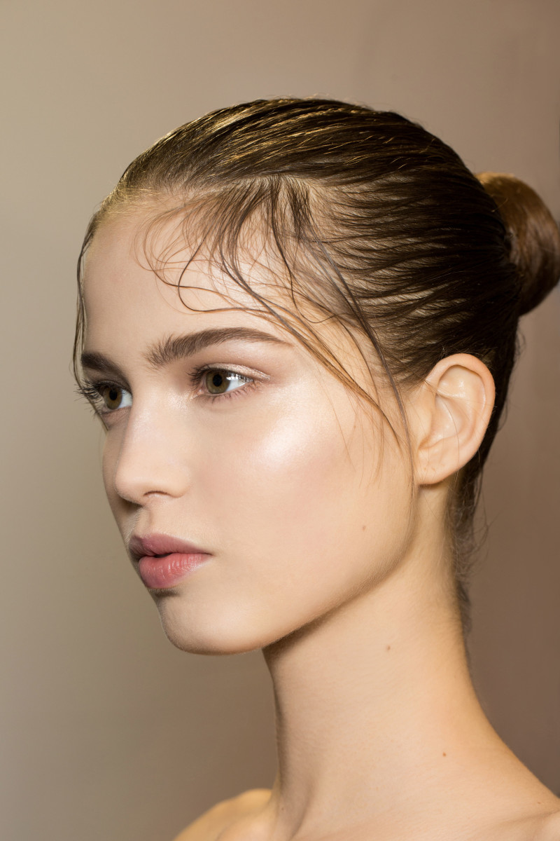Valentino fall 2016 makeup