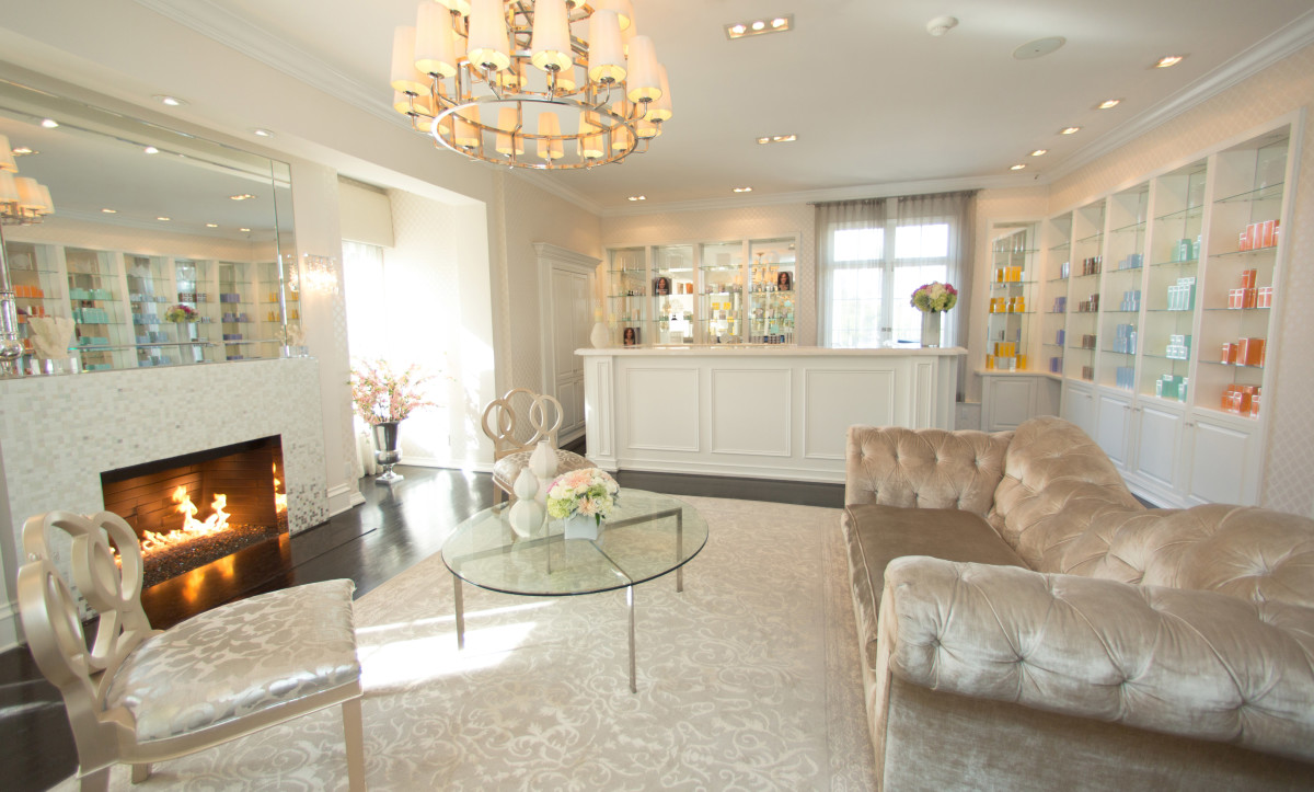 Kate Somerville clinic reception