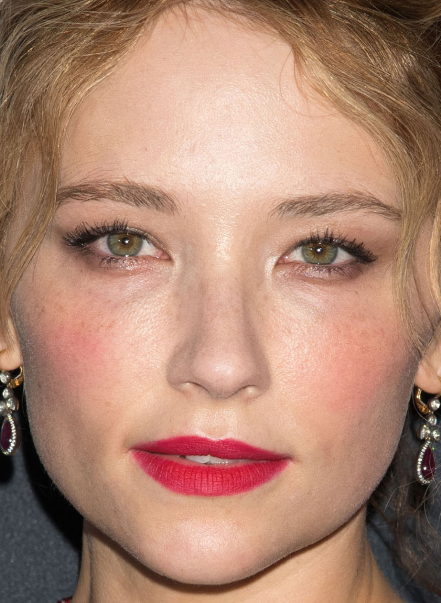 Haley Bennett, The Girl on the Train New York premiere, 2016