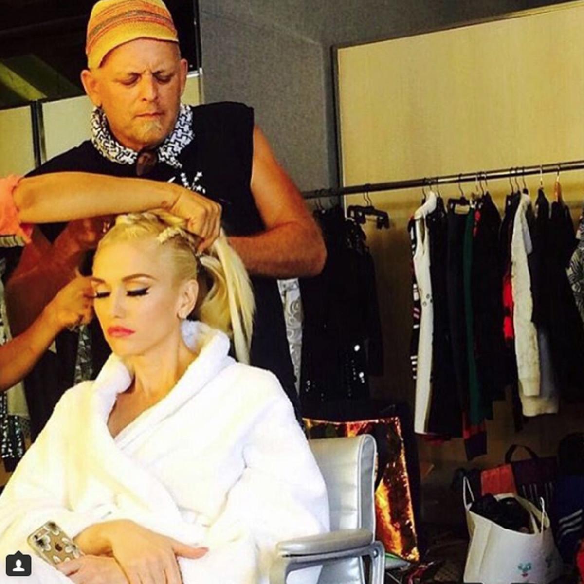 Danilo and Gwen Stefani