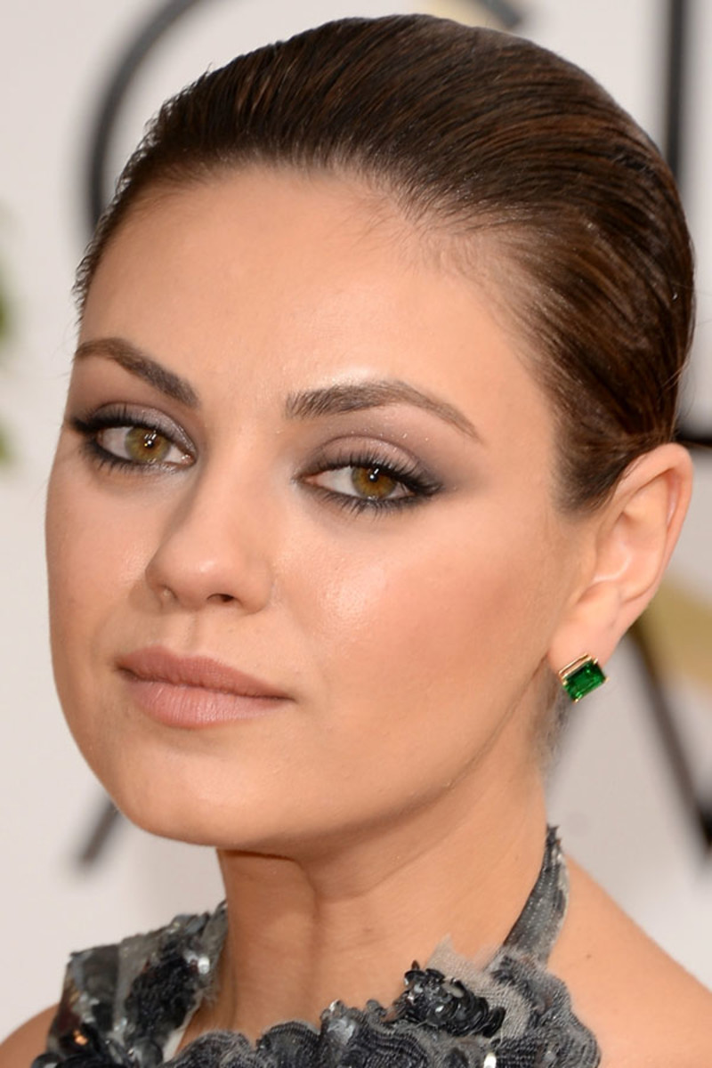 Mila Kunis, Before and After - Beautyeditor Mila Kunis
