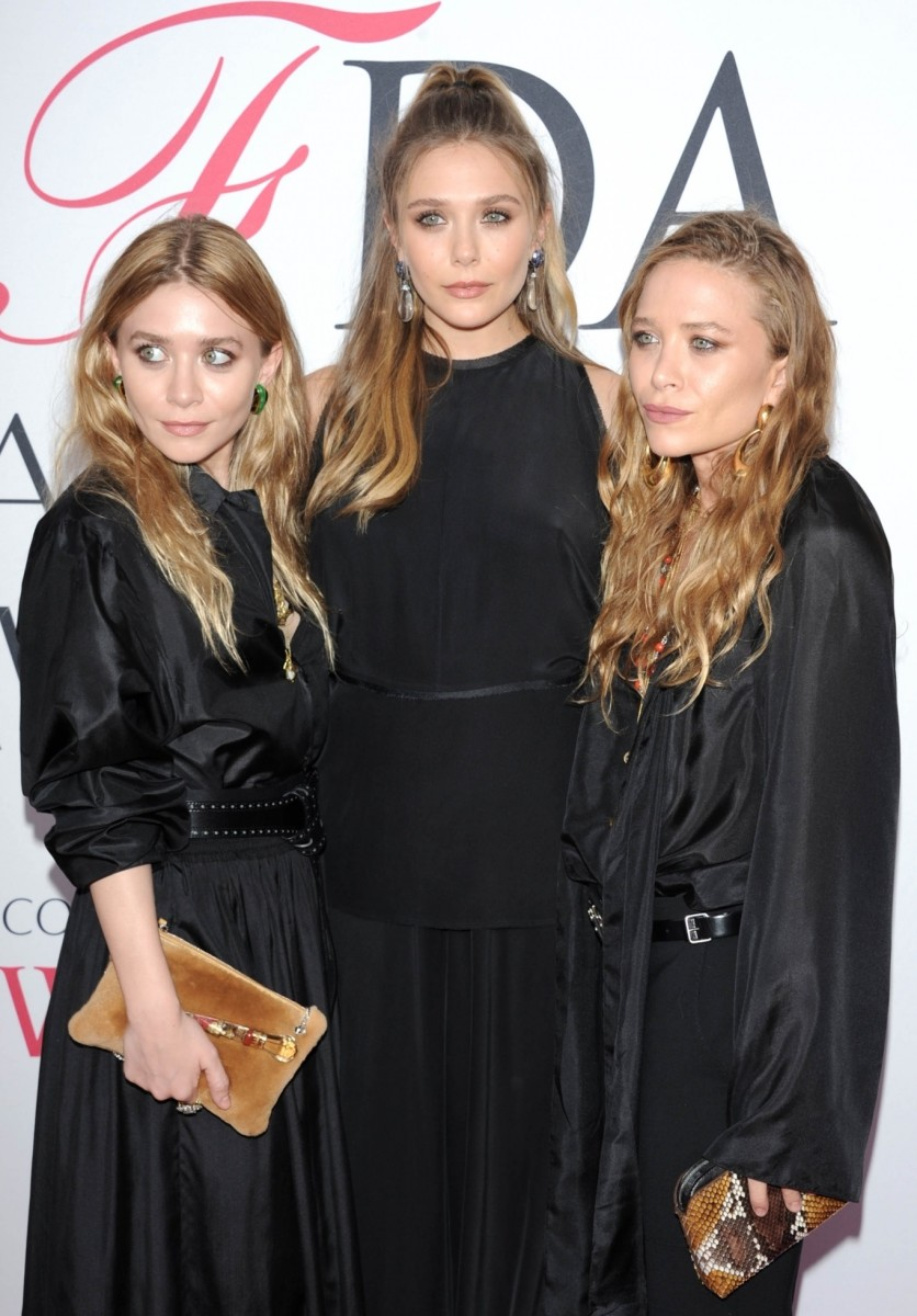 Ashley, Elizabeth and Mary-Kate Olsen, CFDA Awards 2016
