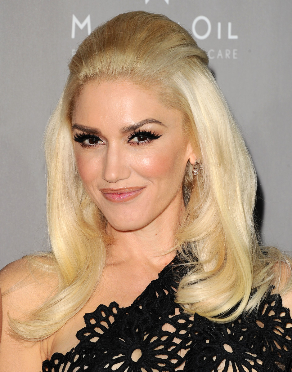 Gwen Stefani, Before and After - Beautyeditor Gwen Stefani