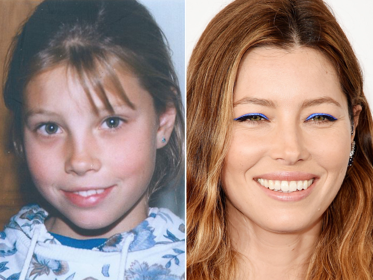 Jessica Biel, before and after