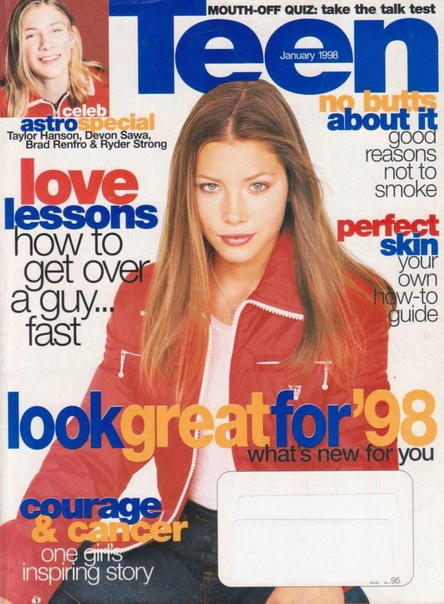 Jessica Biel, Teen Magazine, January 1998
