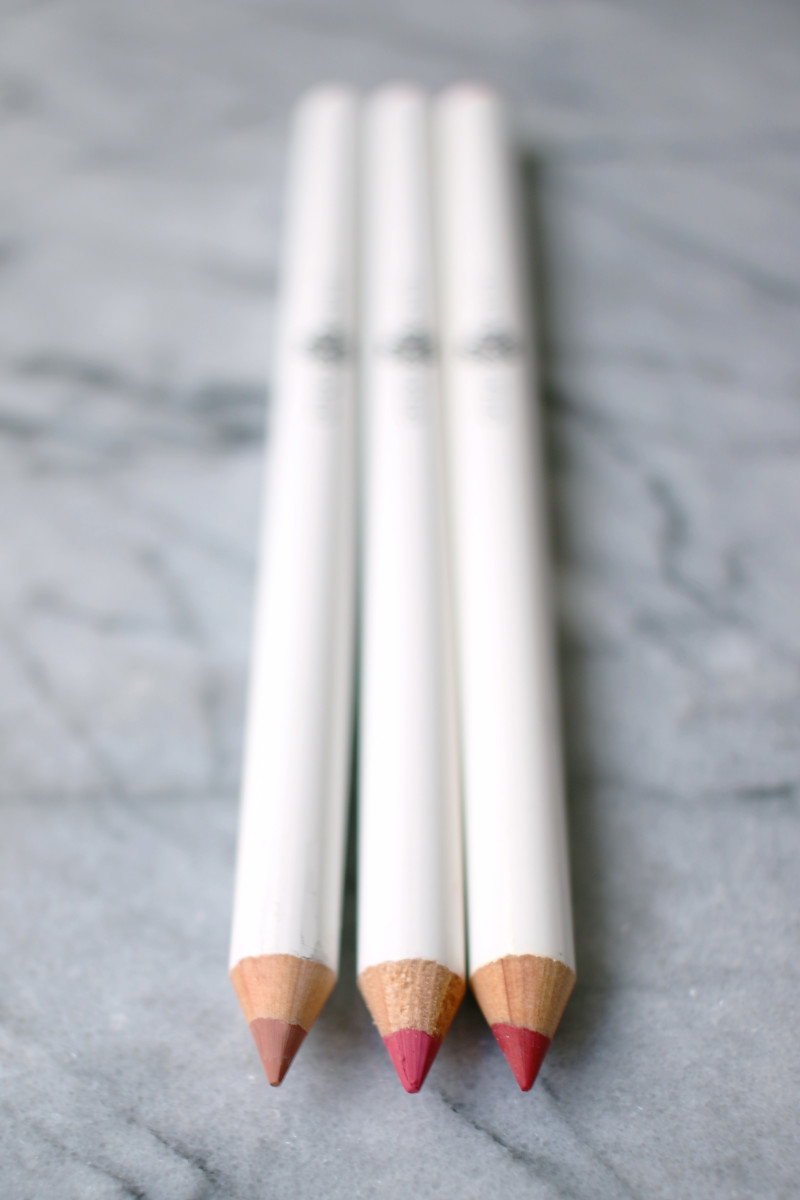 Natural lip pencils Lily Lolo
