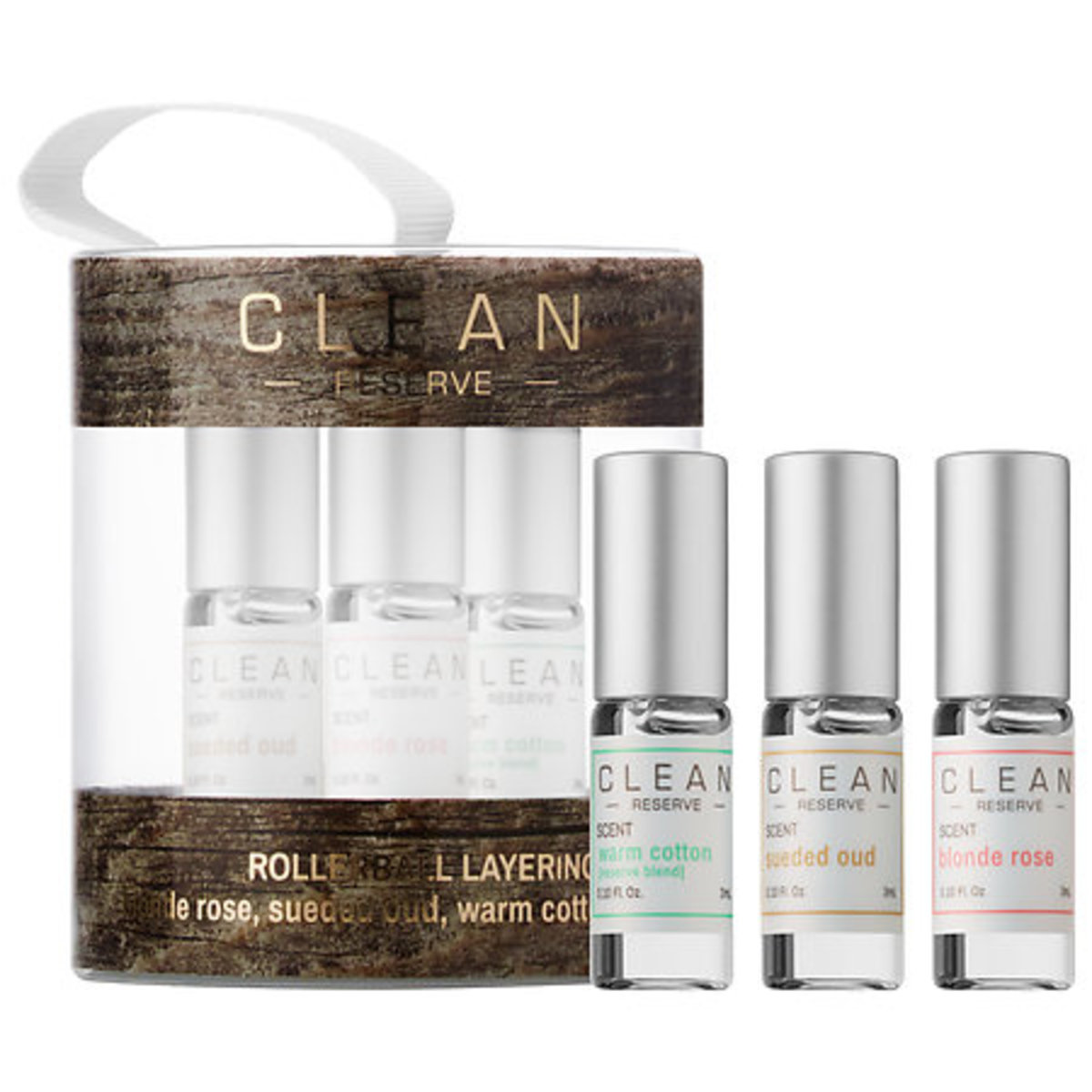 Clean Reserve Rollerball Layering Trio Ornament