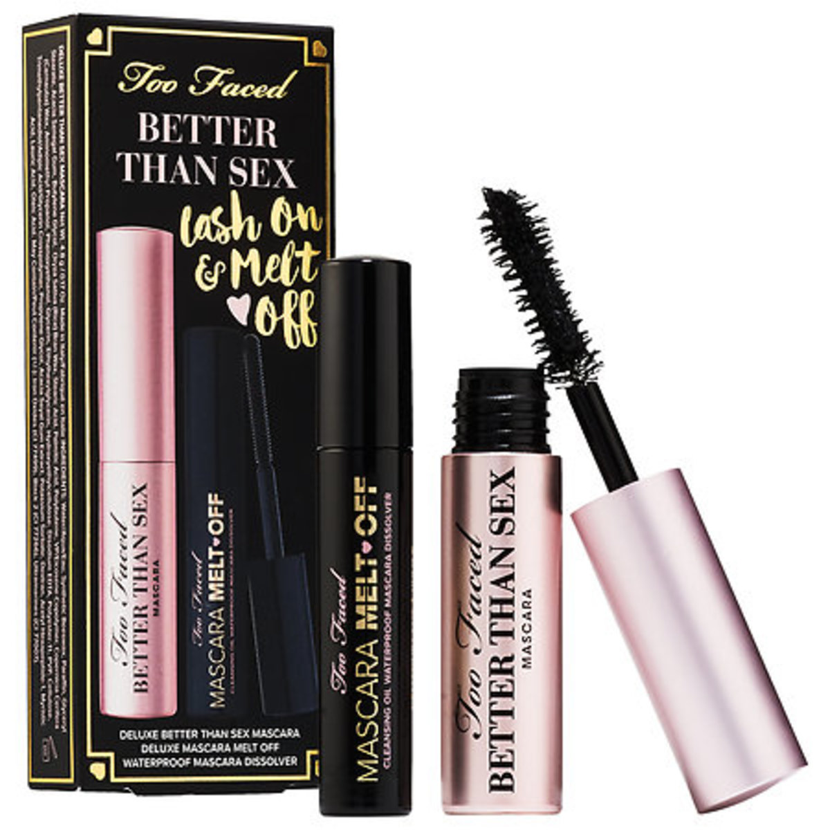 Too Faced Better Than Sex Lash On and Melt Off Set