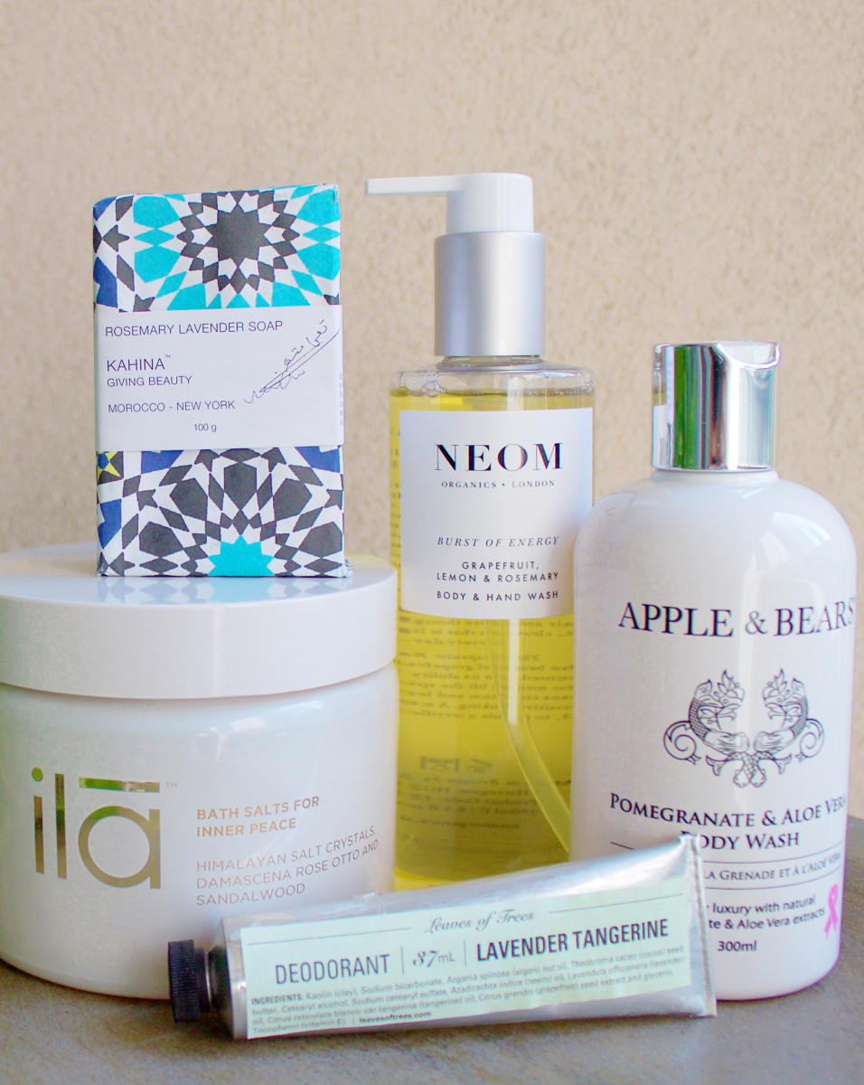Natural organic body products