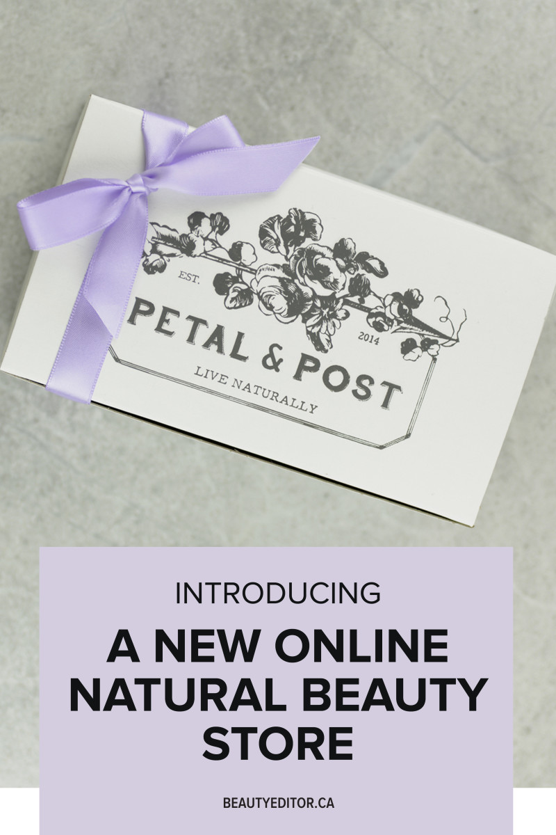 Introducing a new online natural beauty store