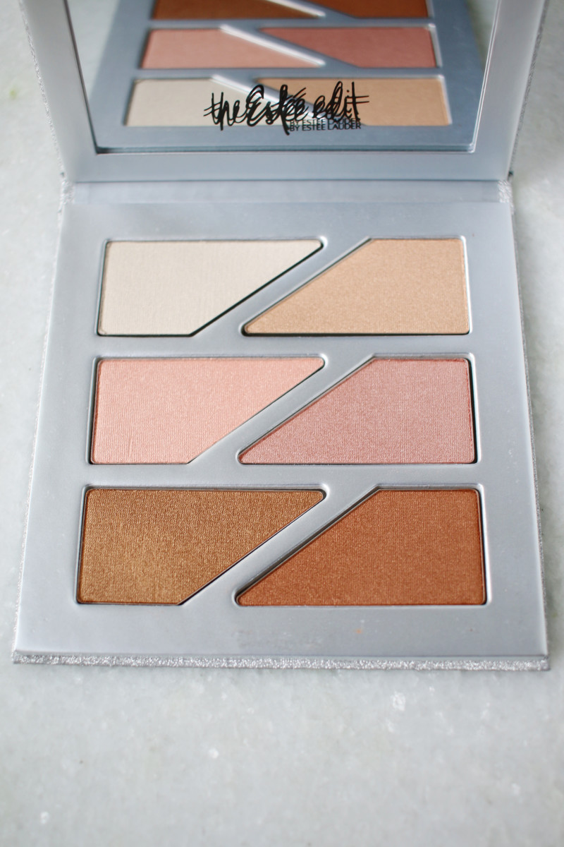 The Estee Edit Glow Magnetic Face Palette