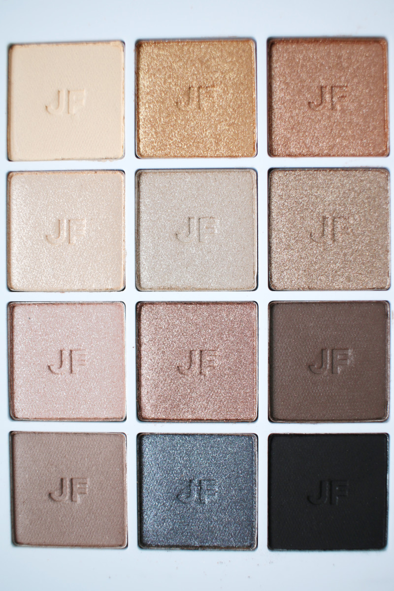 Joe Fresh Eye Shadow Palette Neutrals