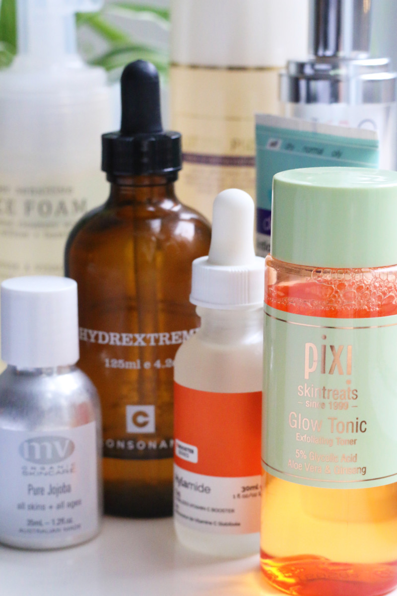 Order of skincare products
