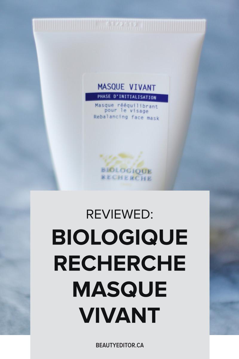 Biologique Recherche Masque Vivant