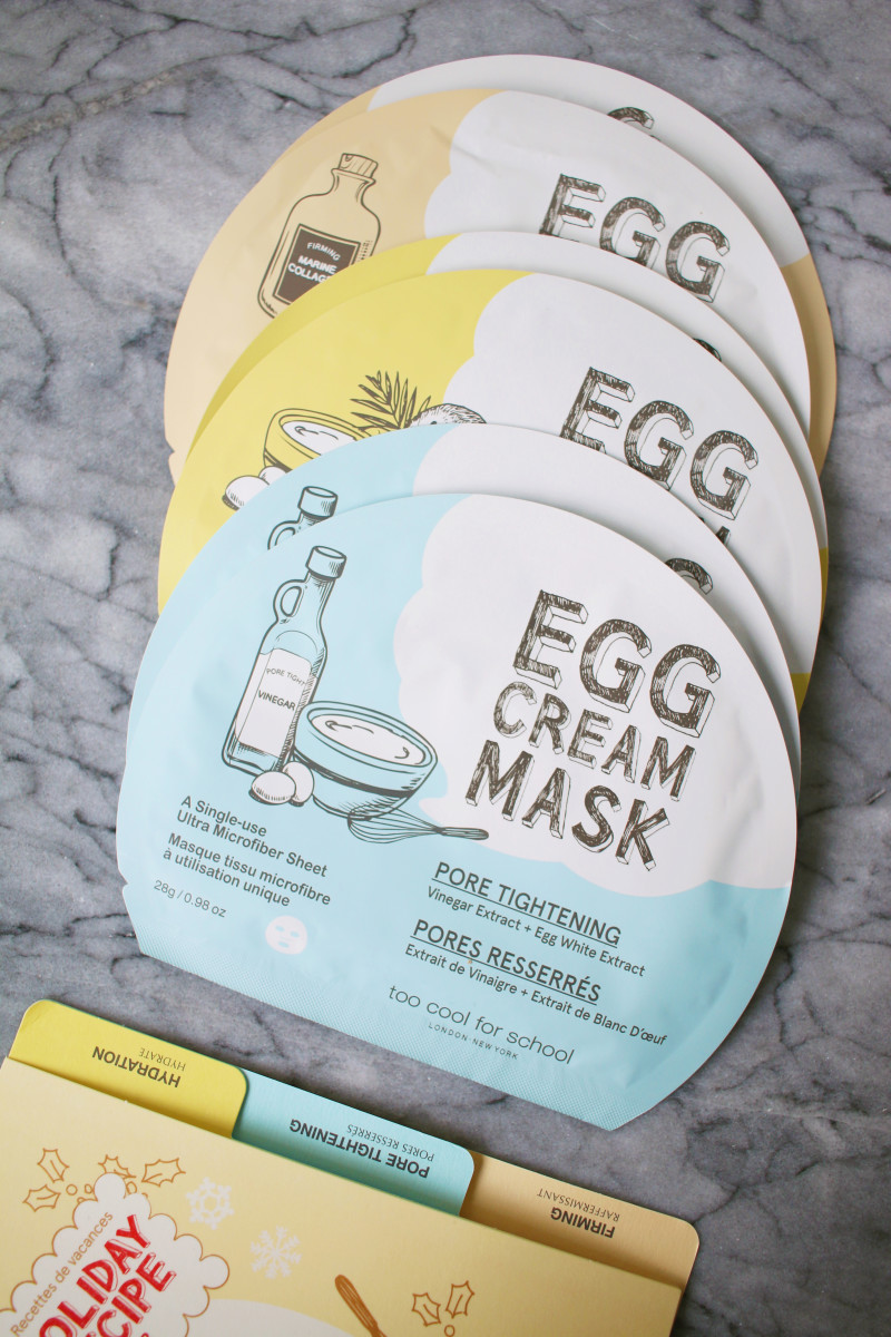 Too Cool For School Half Dozen Egg Cream Mask