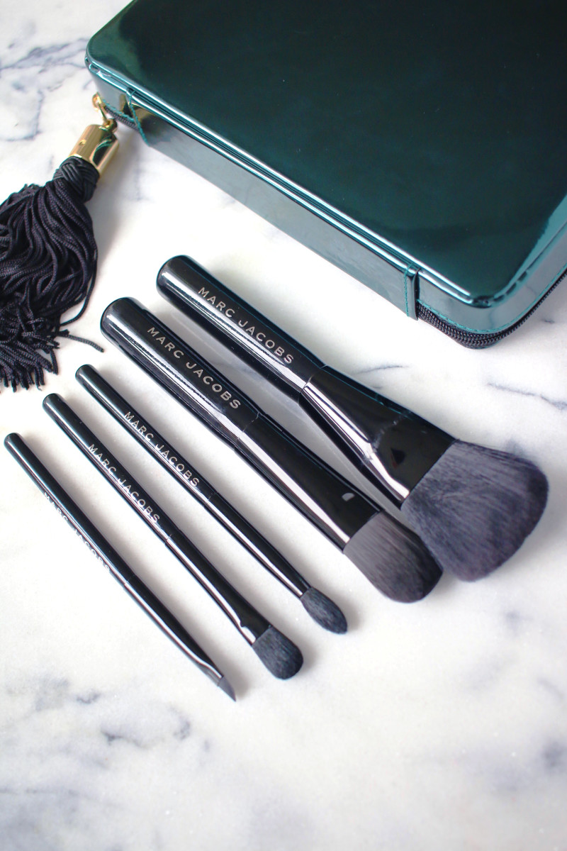 Marc Jacobs Your Place or Mine Five-Piece Travel Brush Collection