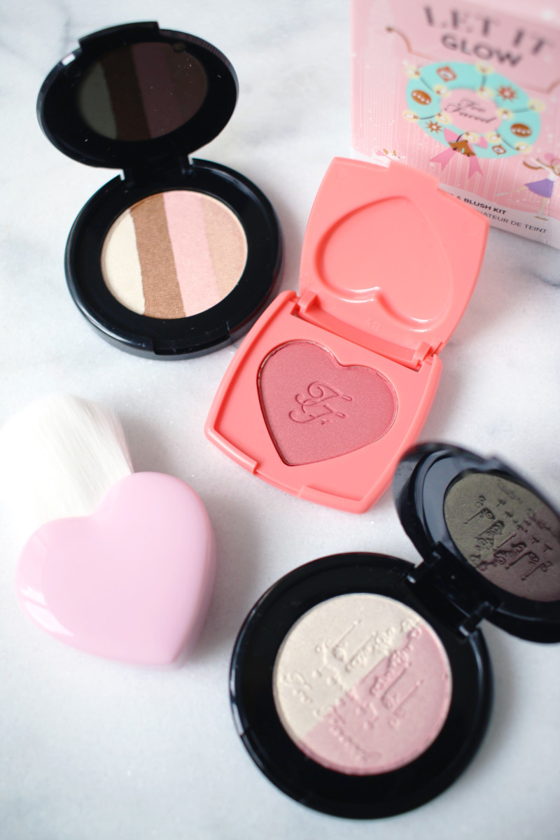 Too Faced Let It Glow Highlight and Blush Kit