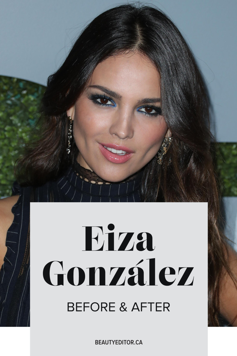 Eiza Gonzalez before and after