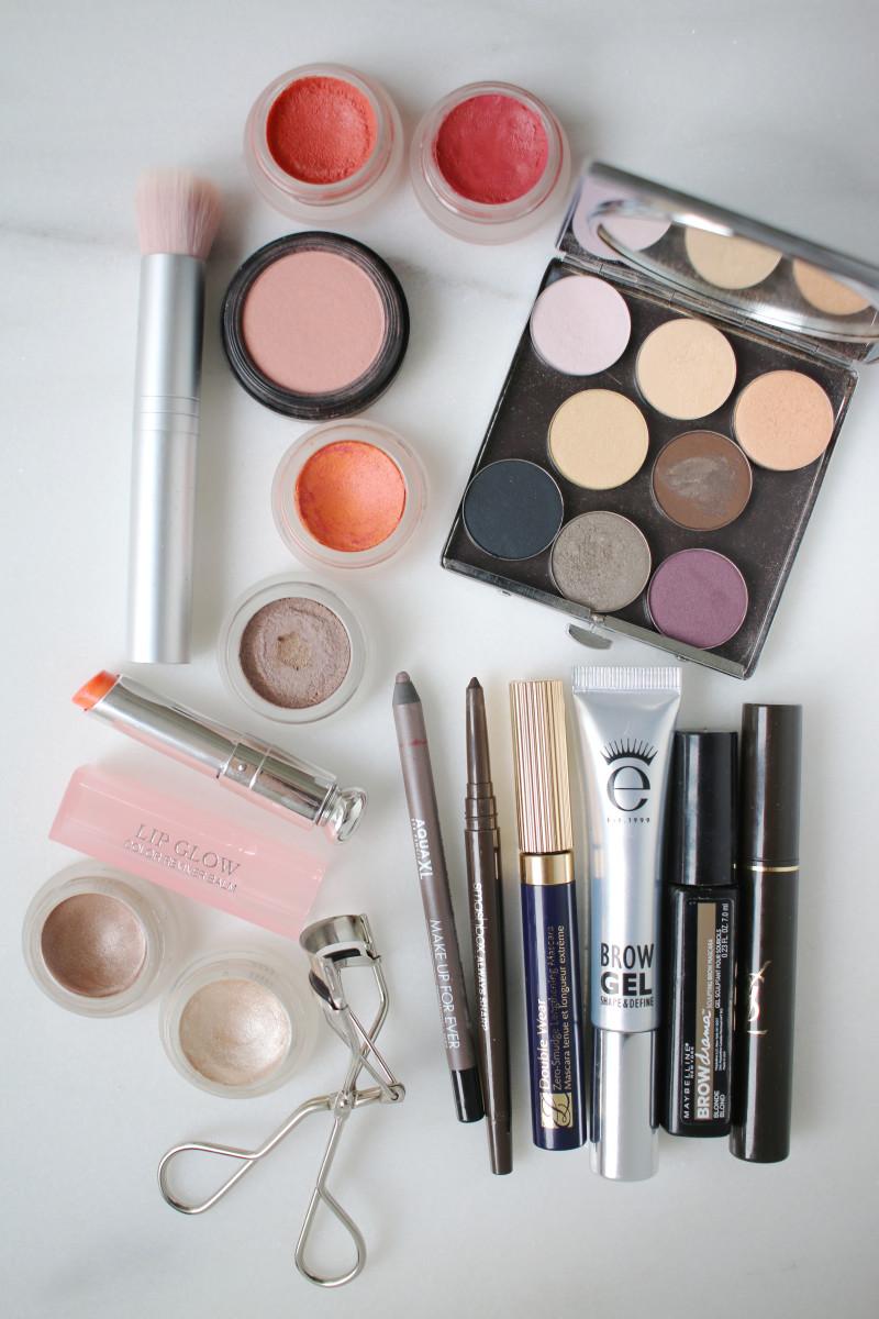 Beauty routine 2016 - colour makeup