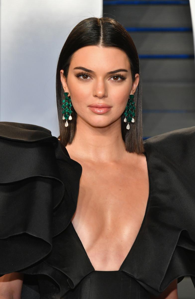 Kendall Jenner, Vanity Fair Oscar party, 2018
