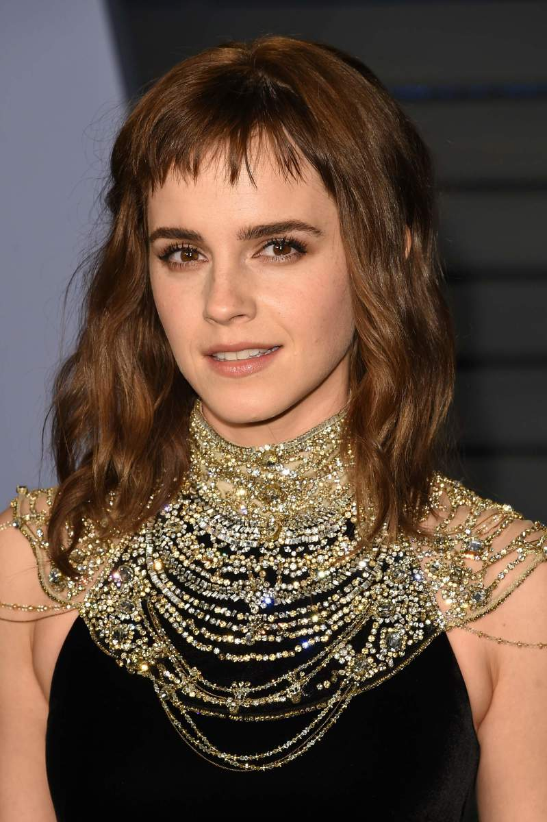 Emma Watson, Vanity Fair Oscar party, 2018