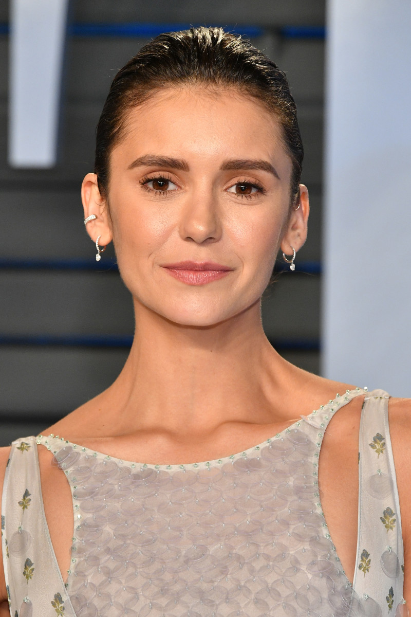 Nina Dobrev, Vanity Fair Oscar party, 2018